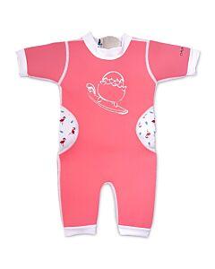 Cheekaaboo Warmiebabes Suit - Salmon Pink/Flamingo - S (6-12M) - 20% OFF!!