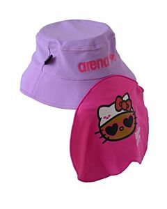 Arena Hello Kitty Swimming Cap - Magenta/Purple