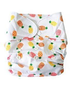 Cheekaaboo 2-in-1 Reusable Swim Diaper / Cloth Diaper - Pineapple - 25% OFF!!