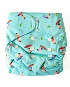 Cheekaaboo 2-in-1 Reusable Swim Diaper / Cloth Diaper - Surf - 25% OFF!!