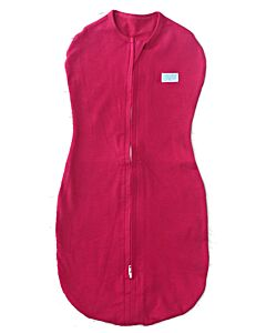 Gugu Premium Zipped Swaddle - Shocking Pink