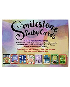 Smilestone Baby Cards | 45 Cards | 31% OFF!!