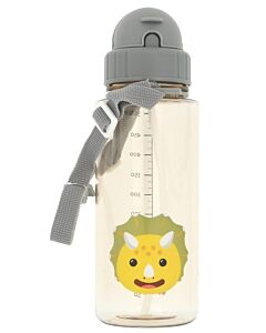 Snapkis: Straw Water Bottle 500ml | Dinosaur - 30% OFF!!