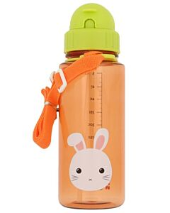 Snapkis: Straw Water Bottle 500ml | Rabbit - 30% OFF!!