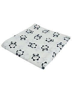 Bebe Living: Muslin Swaddle Blanket - Panda