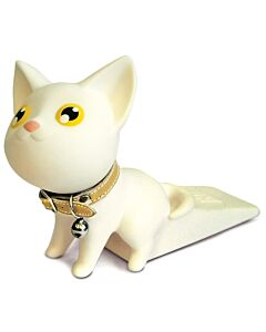 SEMK: Kat Door Stopper - White