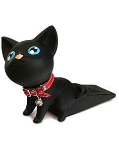 SEMK: Kat Door Stopper - Black