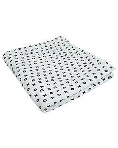 Bebe Living: Muslin Swaddle Blanket - XO