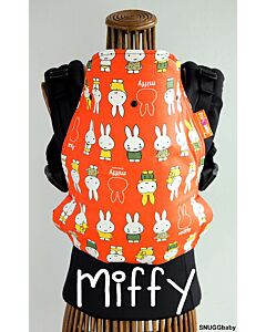 Snuggbaby - Stork Baby Carrier (Tokyo Series - Miffy) (With Upgrades: Cinchable Hood,PFA)