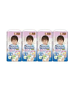 MamyPoko Air Fit Pants BOY L44 (9-14kg) *4 pack bundle*