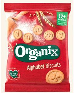 Organix Goodies Organic Alphabet Biscuits 25g
