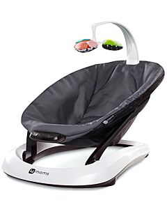 4moms: bounceRoo Baby Bouncer Seat (Dark Grey)