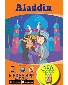 AnimatAR Augmented Reality Children's Story Book 'Aladdin' - 35% OFF!!