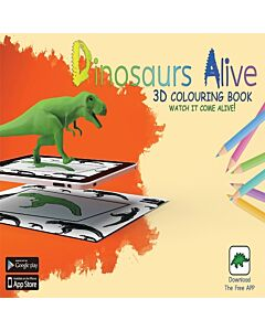 AnimatAR Augmented Reality Colouring Book 'Dinosaurs Alive' - 30% OFF!!