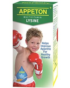 Appeton: Multivitamin Lysine Syrup 120ml - 11% OFF!!