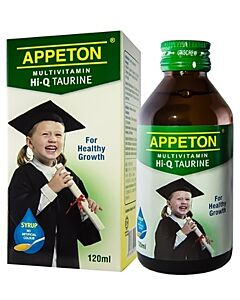 Appeton MultiVitamin HI-Q Taurine Syrup 120ml - 10% OFF!!