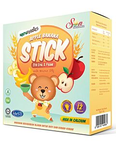 Natufoodies: Apple Banana Stick 50g (10g x 5 packets) - 19% OFF!!