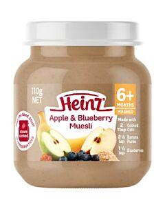 Heinz: Apple & Blueberry Muesli 110g (From 6+ Months)