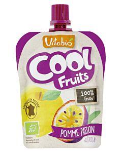 Vitabio Organic Cool Fruits - Apple & Passion Fruit + Acerola 90g - 5% OFF!!