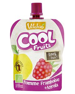 Vitabio Organic Cool Fruits - Apple Raspberry + Acerola 90g - 5% OFF!!