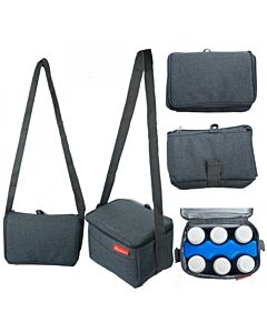 Autumnz - Fun Foldaway Cooler Bag (Cool Grey) - 15% OFF!!