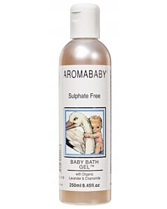 Aromababy: Baby Bath Gel with Organic Lavender & Chamomile 125ml
