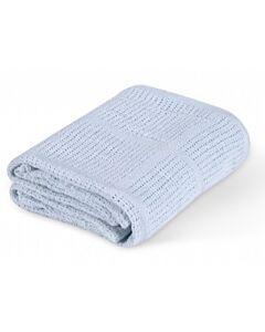 Comfy Living: Baby Blanket 100x140cm (L) | Blue - 20% OFF!!