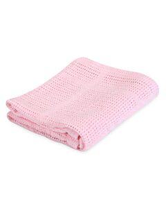 Comfy Living: Baby Blanket 100x140cm (L) | Pink - 20% OFF!!