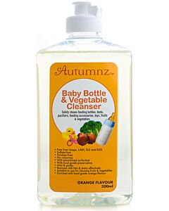Autumnz Baby Bottle & Vegetables Cleanser (500ml) *Orange Flavour* - 20% OFF!!
