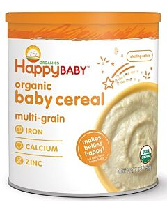 Happy Baby Organic Baby Cereal - Multigrain