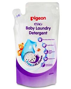 Pigeon Baby Laundry Liquid Detergent 450ml (Refill Pack) - 55% OFF!! (SPECIAL)