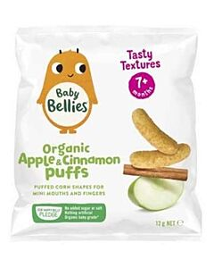 Little Bellies: Organic Baby Puffs - Apple & Cinnamon - 16% OFF!!