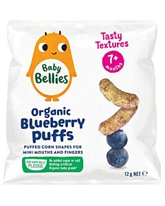 Little Bellies: Organic Baby Puffs - Blueberry - 16% OFF!!