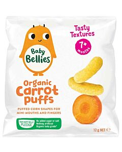 Little Bellies: Organic Baby Puffs - Carrot - 16% OFF!!