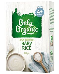 Only Organic: Baby Rice 200gm (4+ Months) - 17% OFF!!