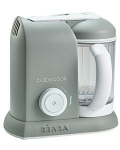 Beaba: Babycook® Solo - Cloud / Grey - 40% OFF!!
