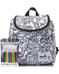 Babymel: Zip & Zoe Colour & Wash Backpack - Dino - 20% OFF!!