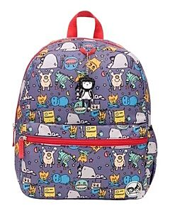 Babymel: Zip & Zoe Kid's Backpack Age 3+ Monster -20% OFF!!