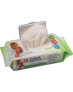 GAIA Bamboo Baby Wipes Pack of 80's - 24% OFF!!