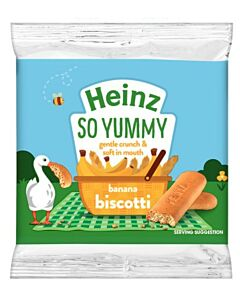 Heinz: Banana Biscotti 60g (From 7+ Months) - 27% OFF!!