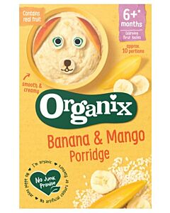 Organix Banana & Mango Porridge 120g (6+ Months)