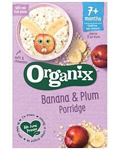 Organix Banana & Plum Porridge 200g (7+ Months)