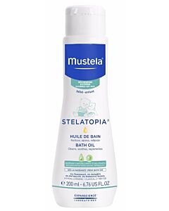 Mustela: STELATOPIA® Milky Bath Oil 200ml - 28% OFF!!