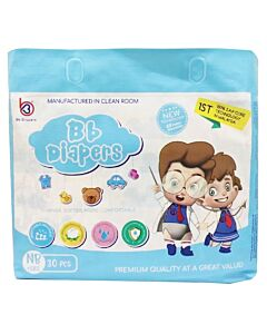 BB Diapers - NB30 (NB - 5kg) - 16% OFF!