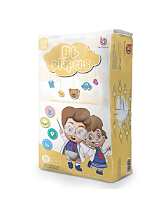 BB Diapers - M48 (6 - 11kg) - 16% OFF!