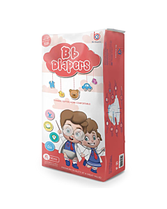 BB Diapers - XL40 (12 - 17kg) - 16% OFF!
