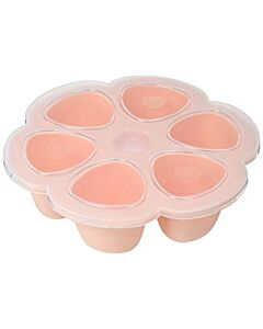 Beaba: Multiportions silicone tray 6x90ml (Pink) - 20% OFF!!