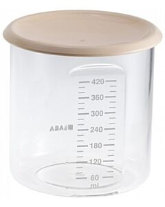Beaba: Maxi+ Portion Food Jar 420ml (Beige) - 20% OFF!!