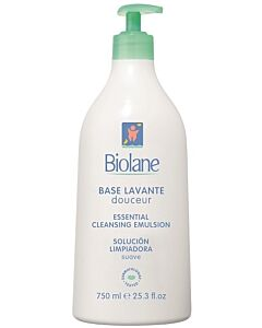 Biolane Essential Cleansing Emulsion 750ml - 15% OFF!