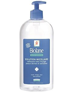 Biolane Dermo-paediatrics Micellaire Solution 500ml - 20% OFF!